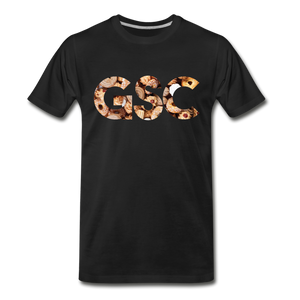 Men's Premium Organic Girl Scout Cookies T-Shirt - black