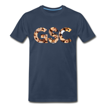 Load image into Gallery viewer, Men's Premium Organic Girl Scout Cookies T-Shirt - navy