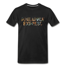 Load image into Gallery viewer, Men's Premium Organic Pineapple Express T-Shirt - black