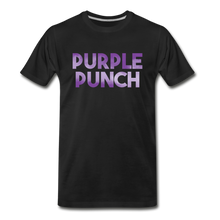 Load image into Gallery viewer, Men's Premium Organic Purple Punch T-Shirt - black