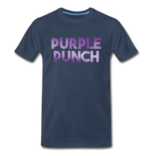 Load image into Gallery viewer, Men's Premium Organic Purple Punch T-Shirt - navy