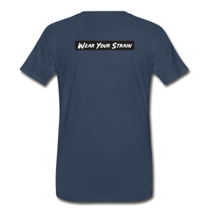Men's Premium Organic Purple Punch T-Shirt - navy
