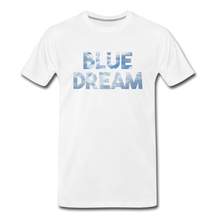 Load image into Gallery viewer, Men's Premium Organic Blue Dream T-Shirt - white