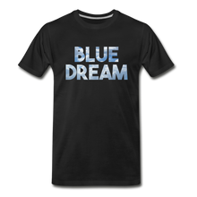 Load image into Gallery viewer, Men's Premium Organic Blue Dream T-Shirt - black
