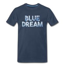 Load image into Gallery viewer, Men's Premium Organic Blue Dream T-Shirt - navy