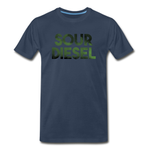 Load image into Gallery viewer, Men's Premium Organic Sour Diesel T-Shirt - navy