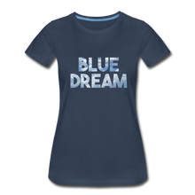 Load image into Gallery viewer, Women's Premium Organic Blue Dream T-Shirt - navy