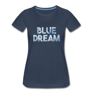 Women's Premium Organic Blue Dream T-Shirt - navy