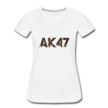 Load image into Gallery viewer, Women's Premium Organic AK47 T-Shirt - white