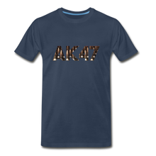 Load image into Gallery viewer, Men's Premium Organic AK47 T-Shirt - navy
