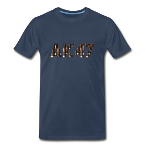 Men's Premium Organic AK47 T-Shirt - navy
