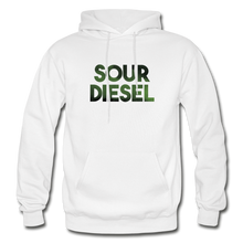Load image into Gallery viewer, Men's Sour Diesel Hoodie - white