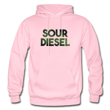 Load image into Gallery viewer, Men's Sour Diesel Hoodie - light pink