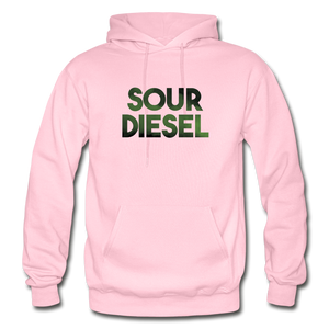 Men's Sour Diesel Hoodie - light pink