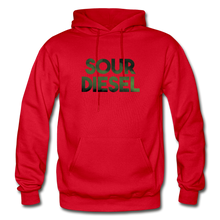 Load image into Gallery viewer, Men's Sour Diesel Hoodie - red