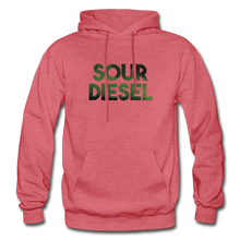 Load image into Gallery viewer, Men's Sour Diesel Hoodie - heather red