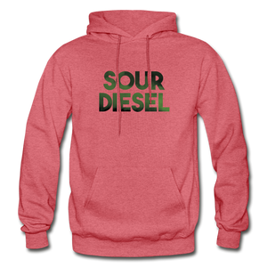 Men's Sour Diesel Hoodie - heather red
