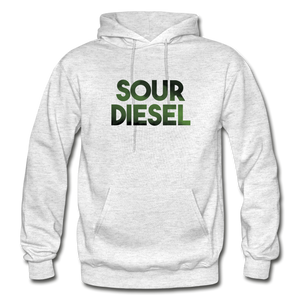 Men's Sour Diesel Hoodie - light heather gray