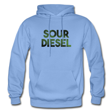 Load image into Gallery viewer, Men's Sour Diesel Hoodie - carolina blue