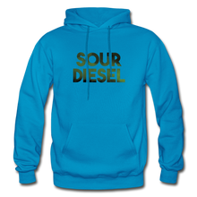 Load image into Gallery viewer, Men's Sour Diesel Hoodie - turquoise