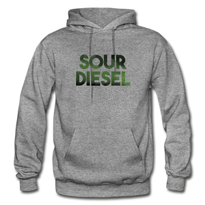 Men's Sour Diesel Hoodie - graphite heather