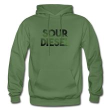 Load image into Gallery viewer, Men's Sour Diesel Hoodie - military green
