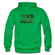 Load image into Gallery viewer, Men's Sour Diesel Hoodie - kelly green