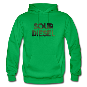 Men's Sour Diesel Hoodie - kelly green
