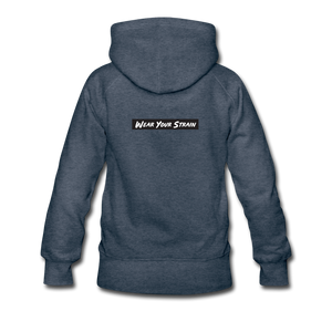 Women's AK47 Hoodie - heather denim