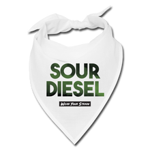 Load image into Gallery viewer, Sour Diesel Face Covering - white