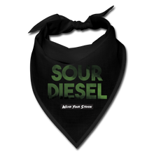 Load image into Gallery viewer, Sour Diesel Face Covering - black
