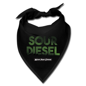 Sour Diesel Face Covering - black
