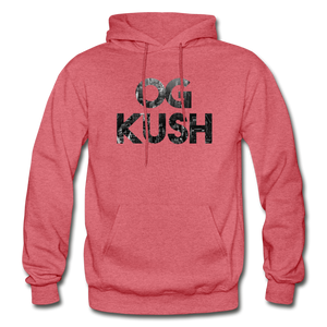 Men's OG Kush Hoodie - heather red