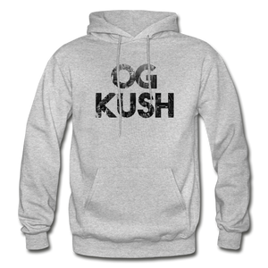 Men's OG Kush Hoodie - heather gray