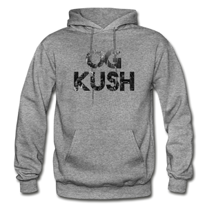 Men's OG Kush Hoodie - graphite heather