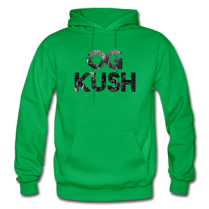 Men's OG Kush Hoodie - kelly green