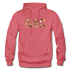 Men's Girl Scout Cookie Hoodie - heather red