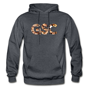 Men's Girl Scout Cookie Hoodie - charcoal gray