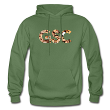 Load image into Gallery viewer, Men's Girl Scout Cookie Hoodie - military green