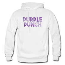 Load image into Gallery viewer, Men's Purple Punch Hoodie - white