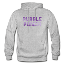 Load image into Gallery viewer, Men's Purple Punch Hoodie - heather gray