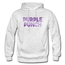 Load image into Gallery viewer, Men's Purple Punch Hoodie - light heather gray