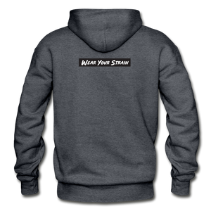 Men's Purple Punch Hoodie - charcoal gray