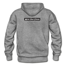 Load image into Gallery viewer, Men's Purple Punch Hoodie - graphite heather