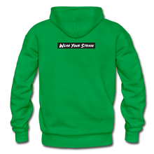 Load image into Gallery viewer, Men's Purple Punch Hoodie - kelly green