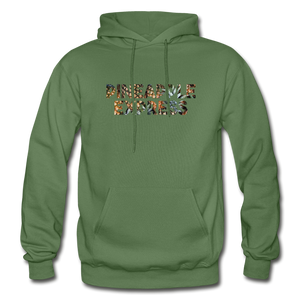 Men's Pineapple Express Hoodie - military green