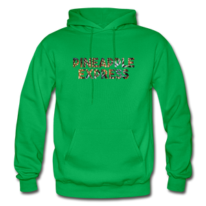 Men's Pineapple Express Hoodie - kelly green