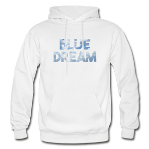 Men's Blue Dream Hoodie - white