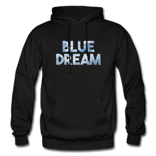 Load image into Gallery viewer, Men's Blue Dream Hoodie - black