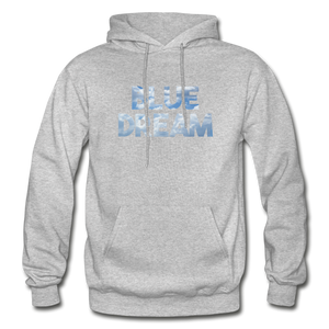 Men's Blue Dream Hoodie - heather gray